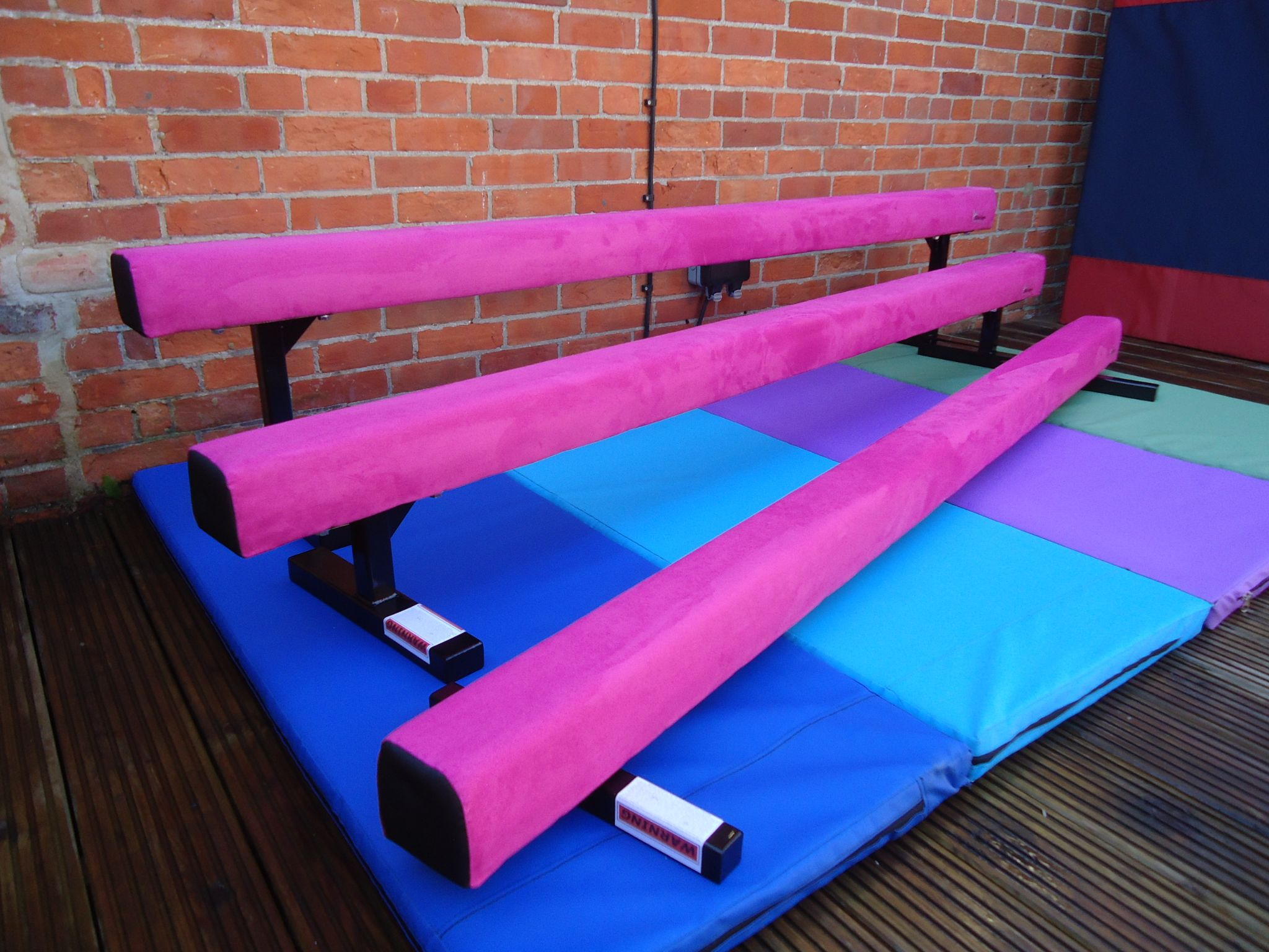 8ft 2 4mtr 6 High Gymnastic Balance Beam